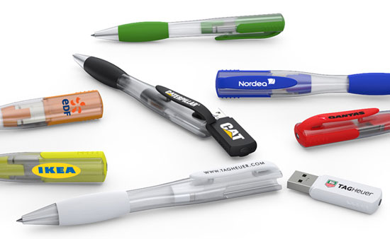 USB Flash Pens with innovative magnetic mechanism